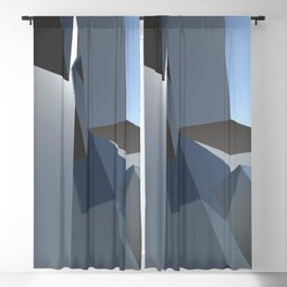 Climb Geometric Art Blackout Curtain
