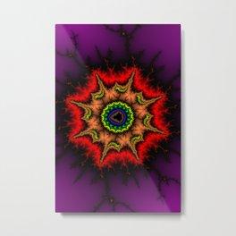 Mandelbrot Mandala Fractal Art Print Metal Print