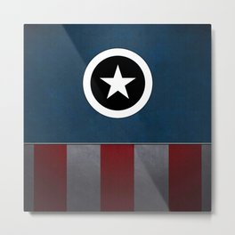 CAPTAIN HERO Metal Print