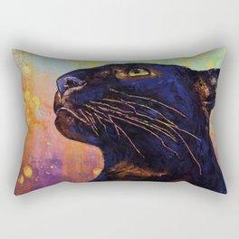Panther Colors Rectangular Pillow