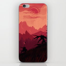 Under A Blood Moon iPhone Skin