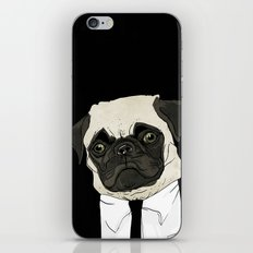 puggetaboutit iPhone Skin