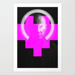 LoveP Art Print