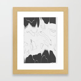 Artistic Shaped Scan Framed Art Print