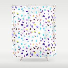 Paint Daubs Shower Curtain