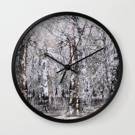 Be still! Be still! Wall Clock