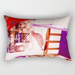 Paloma quiet and serene. Rectangular Pillow