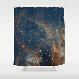 Space 05 Shower Curtain