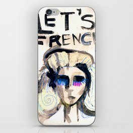 LET'S FRENCH!  iPhone Skin