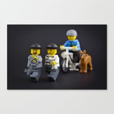 Why run with the key Canvas Print
