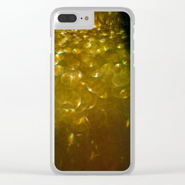 Light Drips II Clear iPhone Case
