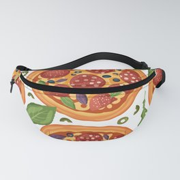 Cool Pizza Lover Pattern Fanny Pack