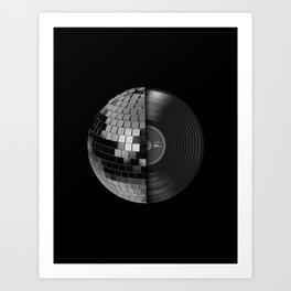 Disco Mix Art Print