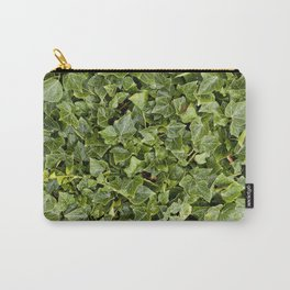 Green Leafs Carry-All Pouch