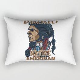 Proud Native American Rectangular Pillow