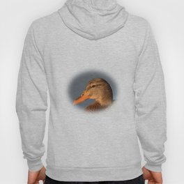 Female Duck Portrait Hoody