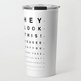 Look this! Travel Mug