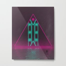 Elemental Lightspeed Metal Print