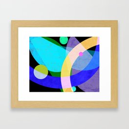 not being funny or nothing... Framed Art Print