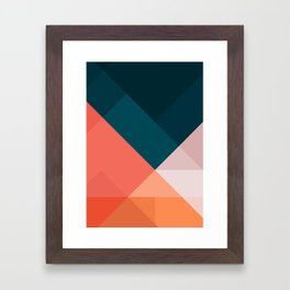 Geometric 1708 Framed Art Print