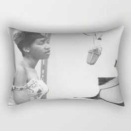 Aretha Franklin Poster American Singer Canvas Wall Art Home Decor Framed Art Rectangular Pillow