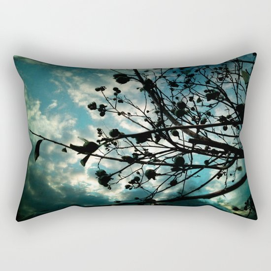 Buds and Branches Rectangular Pillow