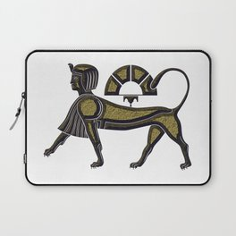 Sphinx - mythical creature of ancient Egypt Laptop Sleeve