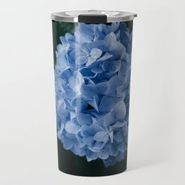 Beautiful Blue Hydrangea Travel Mug