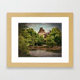 The Curfew Tower Windsor Castle Framed Art Print