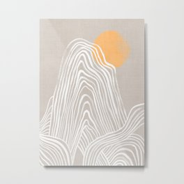 Echo mountain Metal Print