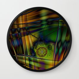 Metawave by Kenny Rego Wall Clock