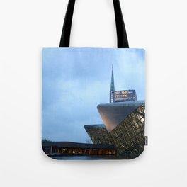 Zaha H A D I D | architect | Guangzhou Opera House Tote Bag