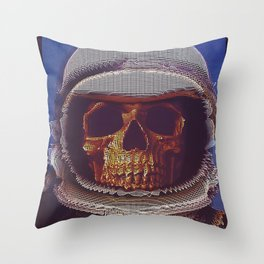 At A Certain Distance In space Or Time Throw Pillow