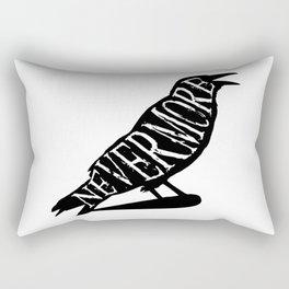 Nevermore - The Raven Rectangular Pillow