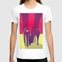 shoes T-shirts featuring Shoes by Giuseppe Cristiano