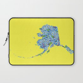 Alaska in Flowers Laptop Sleeve