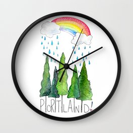 Portland Love Wall Clock
