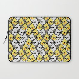 Too Many Birds Cockatiel Laptop Sleeve