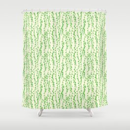 String of Pearls Pattern Shower Curtain
