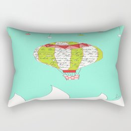 Air Balloon Rectangular Pillow
