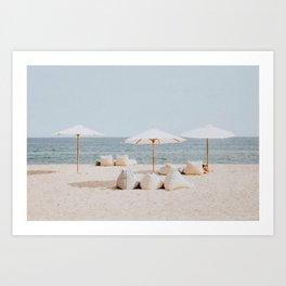 summer beach ii Art Print