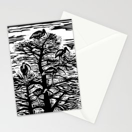 Five Ibis Stationery Cards