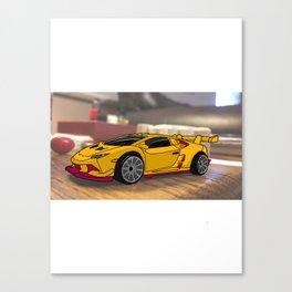 Super car of Endless Possibilites Canvas Print