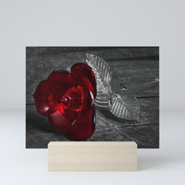 Rose Diptych (Right) | Selective Color Mini Art Print