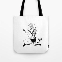 I fall in love too easily Tote Bag