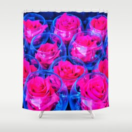 Rose Bowls Shower Curtain
