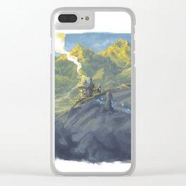 Magic house Clear iPhone Case