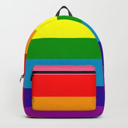 Rainbow Flag (Original Gay Pride Flag Colors) Backpack