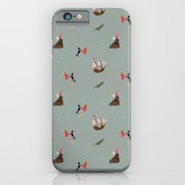 Neverland Pattern iPhone Case