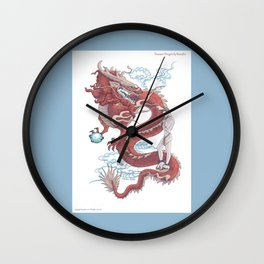 Treasure Dragon Wall Clock